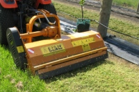 Mulchers and grass mowers for green areas and and compact tractors