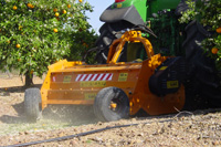 "Mulcher mit ""Pick-Up"" Rotor"